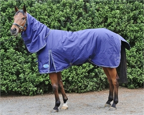 Barnsby 1200D 100g Full neck Horse Turnout Rug