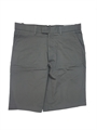 Ashworth Mens Flat Front Grey Golf Shorts