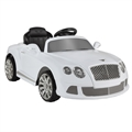 Ex Demo Continental GTC by ZAAP Ride-On Car White