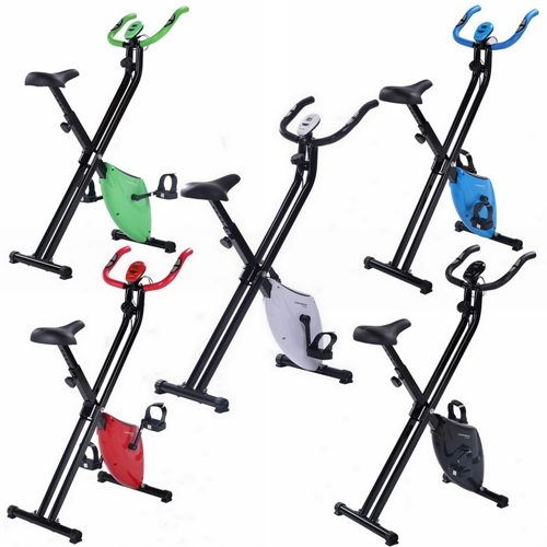 Confidence Fitness Folding Exercise X Bike The Sports Hq