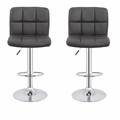 2 x Homegear M2 Contemporary Adjustable Bar Stools