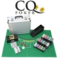 CQ Poker Deluxe Set inc 600 Chips, Cards, Shuffler