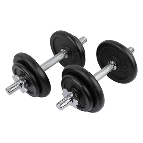Confidence PRO 20kg/44lbs Dumbbell Weights Set