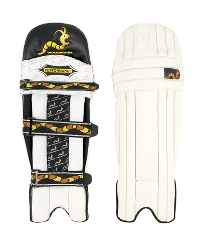 how to put on cricket pads