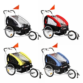 Confidence 2 in 1 Baby Bike Trailer and Stroller