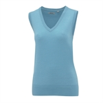 Ashworth Ladies Merino Vest and V-Neck Sweater