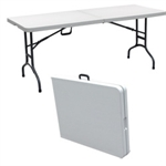 Palm Springs Folding Portable 6 ft Campsite Table