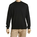 Greg Norman Long Sleeve Interlock Mock Neck Shirt