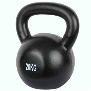 Confidence Pro 20kg Cast Iron Kettlebell