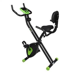ZAAP Folding Recumbent Upright Exercise Bike