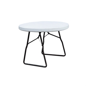 Palm Springs 4ft Folding Round Table