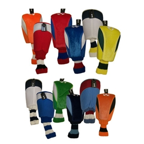 Football Club Colours Golf Woodcovers -Huge Choice
