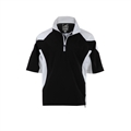 Woodworm Golf V2 Waterproof Half Sleeve Top Black