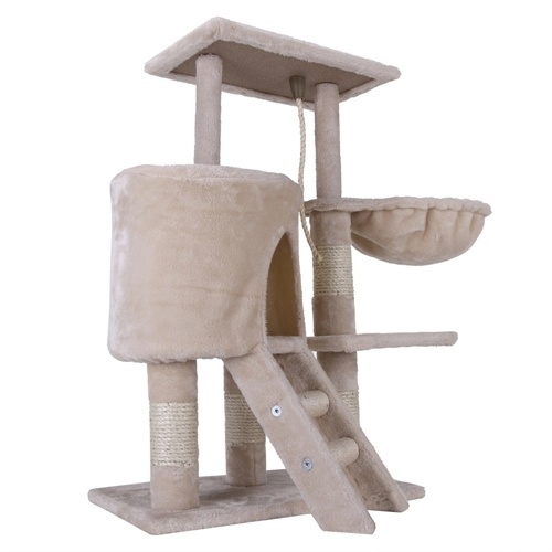 Confidence Pet Executive Cat Tree Beige
