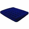 North Gear Queen Flocked Air Bed Mattress