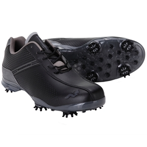 Woodworm TFG Waterproof Golf Shoes Black/Grey