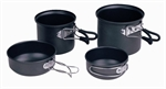 4pc SOLO Cook Set by Camping.co.uk