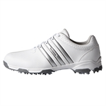 Adidas 360 Traxion WD Golf Shoes White/Silver
