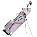 GolfGirl FWS3 Ladies Graphite Golf Set + Stand Bag
