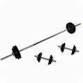 Confidence 50kg Barbell and Dumbbell set