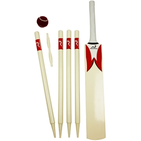 Woodworm Junior Cricket Set - Red Size 4