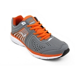 Woodworm Flame Mens Running Shoes / Trainers Grey