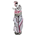 GolfGirl FWS3 Ladies Graphite Golf Set + Cart Bag