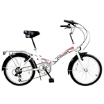 EX-DEMO Stowabike City V2 Compact Bike Red/White