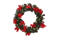 Homegear 60cm Christmas Wreath With Lights