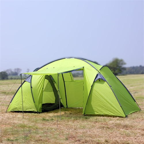 North Gear Trekker Waterproof 6 Man 2 Room Tent & North Gear Trekker 6 Man 2 Room Waterproof Tent - Camping.co.uk