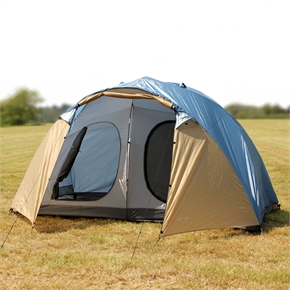 North Gear Holiday Lux 6 Man 2 room tent