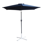 Palm Springs 2.7m Aluminium Parasol Umbrella Blue