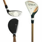 Left Handed Hybrid Rescue Woods & Driving Irons