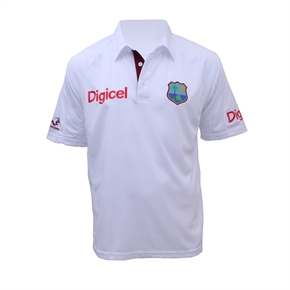 West Indies Replica Test Shirt JUNIORS