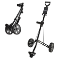 Caddymatic Lite Trac 2 Wheel Folding Golf Trolley