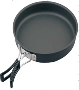 8.5 Hard Anodized Frying Pan by Camping.co.uk