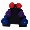 Palm Springs 12kg  Dumbbell Weights Set with Stand