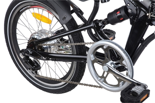 Cyclamatic Pro Suspension Foldaway Electric Bike The