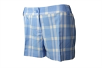 Adidas Womens Plaid Shorts