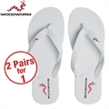 Woodworm Flip Flops BUY A PAIR GET A PAIR FREE