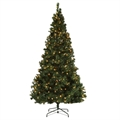 Homegear Pre-lit 7.5ft Artificial Christmas Tree