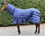 Barnsby 420D 200g Full Neck Horse Stable Rug Navy