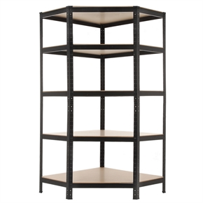 Homegear Heavy Duty 5 Tier Corner Shelving Unit