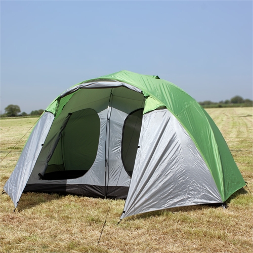 North Gear Holiday Lux 6 Man 2 Room Tent & North Gear Holiday Lux 6 Man 2 Room Tent - Camping.co.uk
